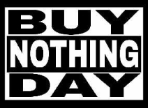 Buy Nothing Day 25 november